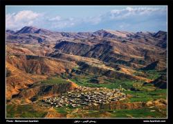 طرح هادی روستای گاومیر دزفول به همراه نقشه های کامل اتوکدی روستا